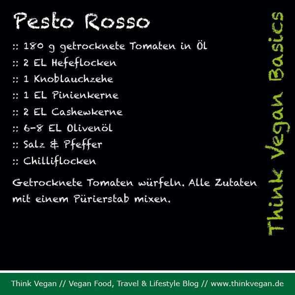 Think Vegan Basics: Pesto Rosso