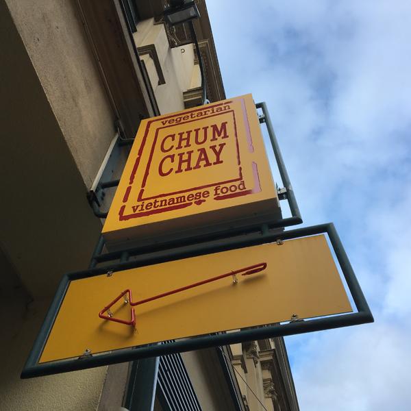 Chum Chay . Restaurant mit veganen Optionen