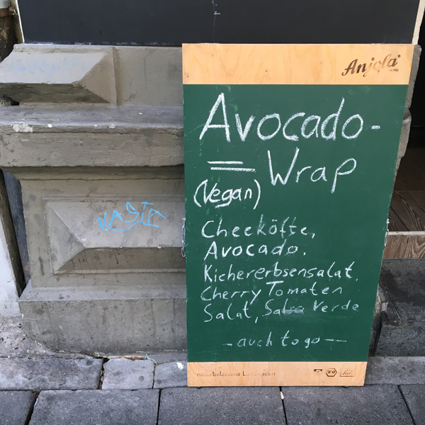 Levo's . Restaurant mit veganen Optionen