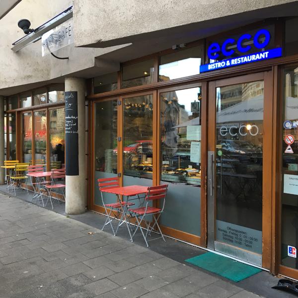Ecco Restaurant . Restaurant Restaurant mit veganen Optionen
