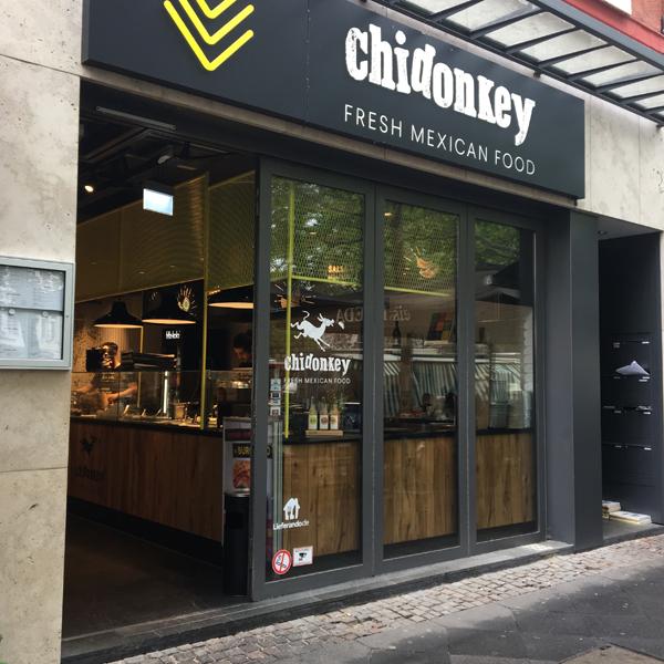 Chidonkey . Mexikaner mit veganen Optionen