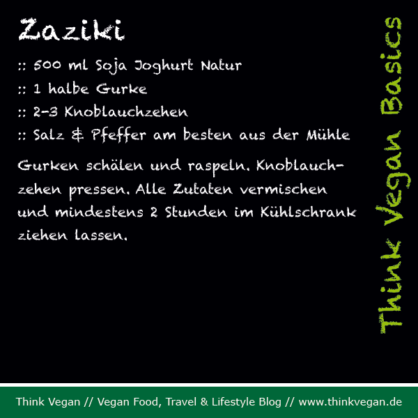 Think Vegan Basics: Zaziki