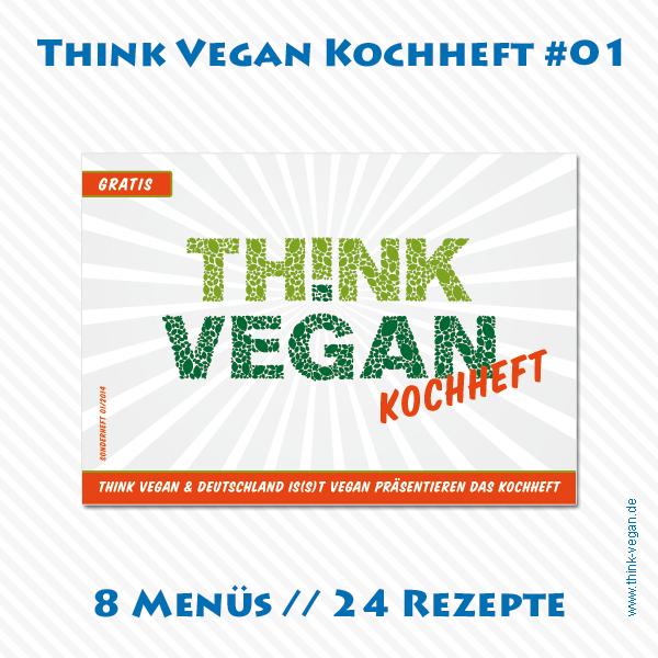 Think Vegan Kochheft 01