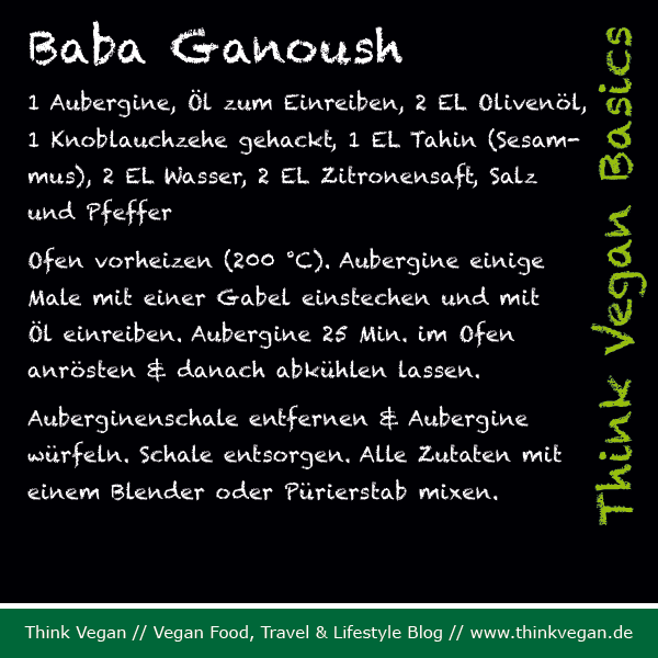 Think Vegan Basics: Baba Ganoush