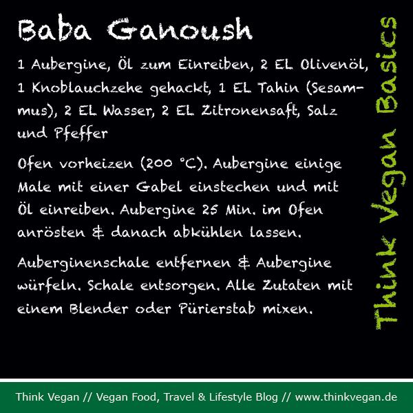 Think Vegan Basics: Baba Ganoush