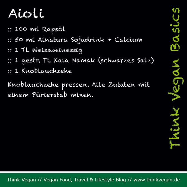Think Vegan Basics: Aioli