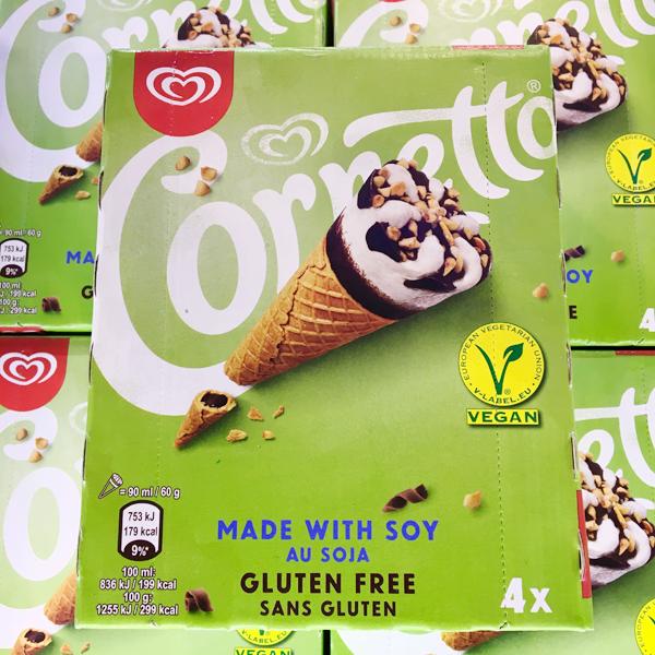 Cornetto Vegan & Glutenfrei Vegan - 4er Pack
