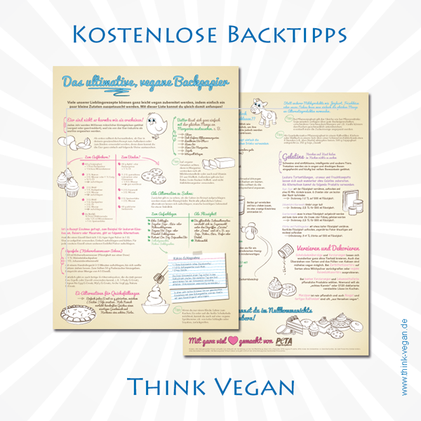 Das ultimative vegane Backpapier . Vegane Backtipps