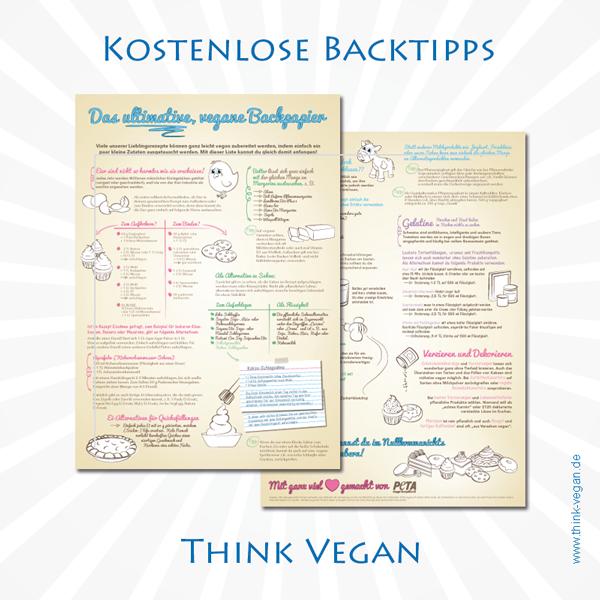 Das ultimative vegane Backpapier . Vegane Backtipps
