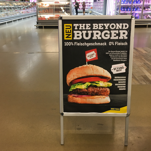 Beyond Meat Metro Deutschland
