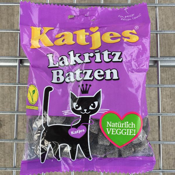 Katjes Lakritz Batzen Vegan