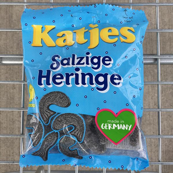 Katjes Salzige Heringe Vegan