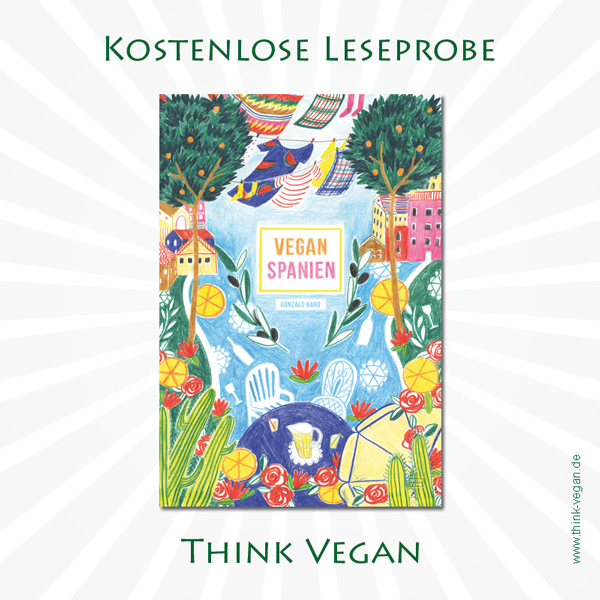 Vegan Spanien . Veganes Kochbuch