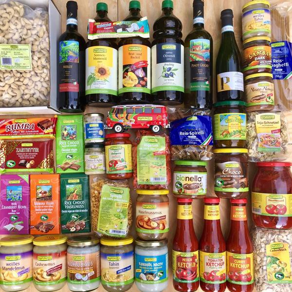 Vegan Online Shopping // Rapunzel Naturkost Shop