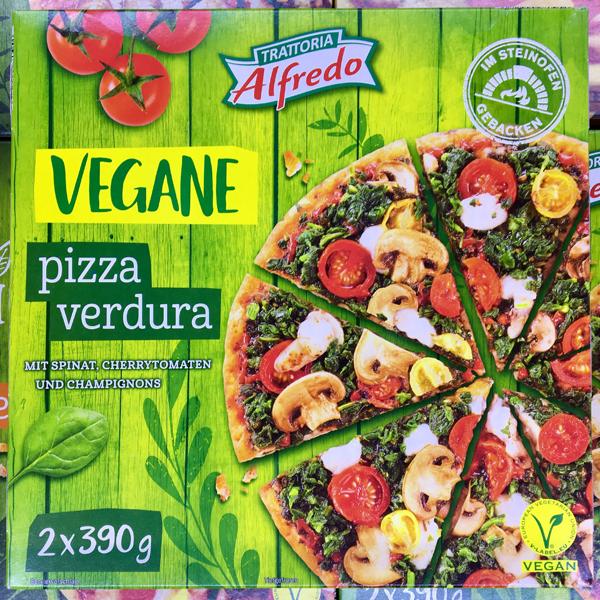 Trattoria Alfredo Vegane Pizza Verdura bei Lidl
