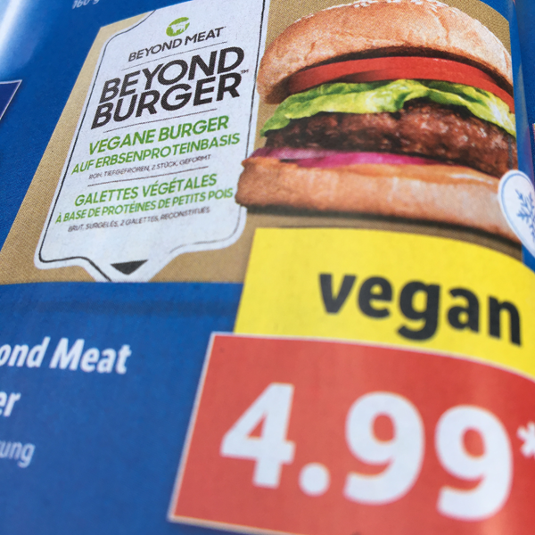 Beyond Meat Burger bei Lidl