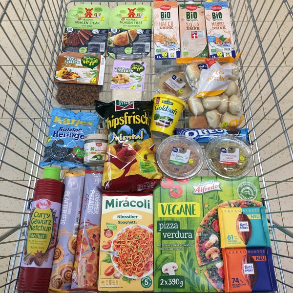 Vegan Shopping bei Lidl