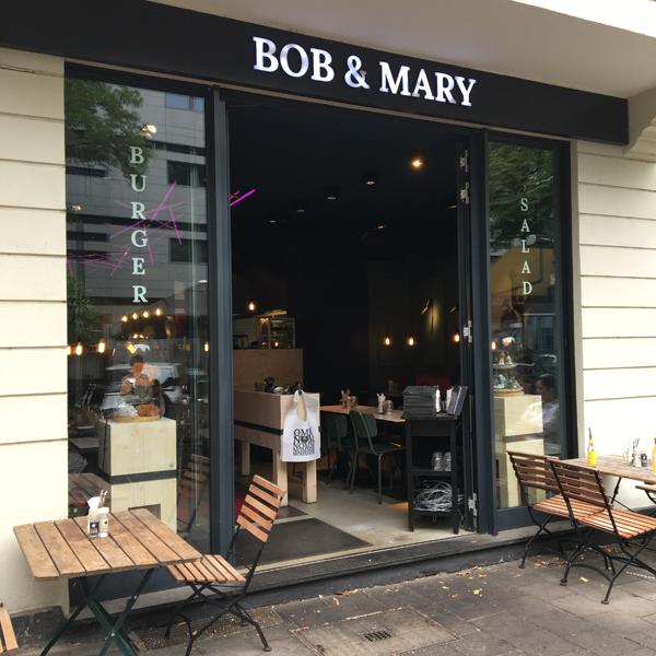 Bob & Mary . Restaurant mit veganen Optionen