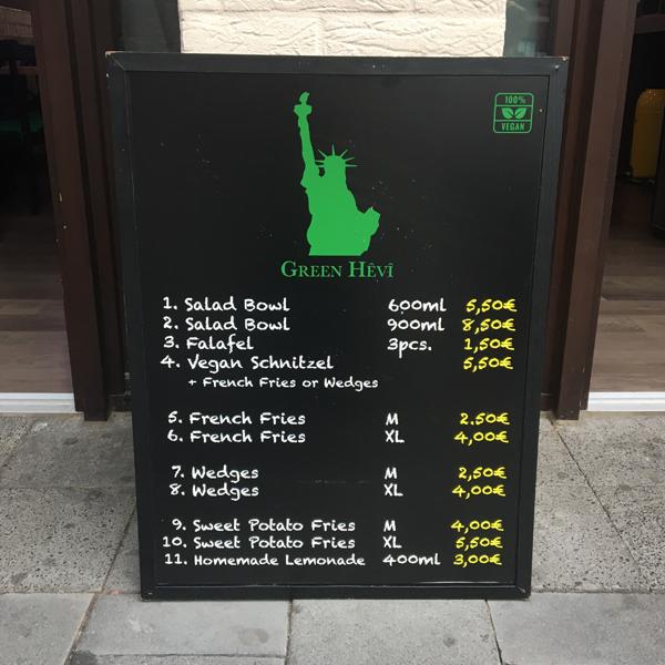 Green Hêvî . Veganes Restaurant
