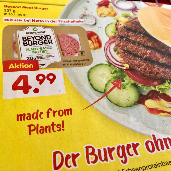 Beyond Burger bei Netto Marken-Discount ab 04. Juli 2019