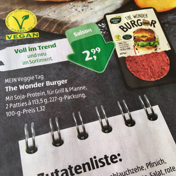 The Wonder Burger // Aldi Süd