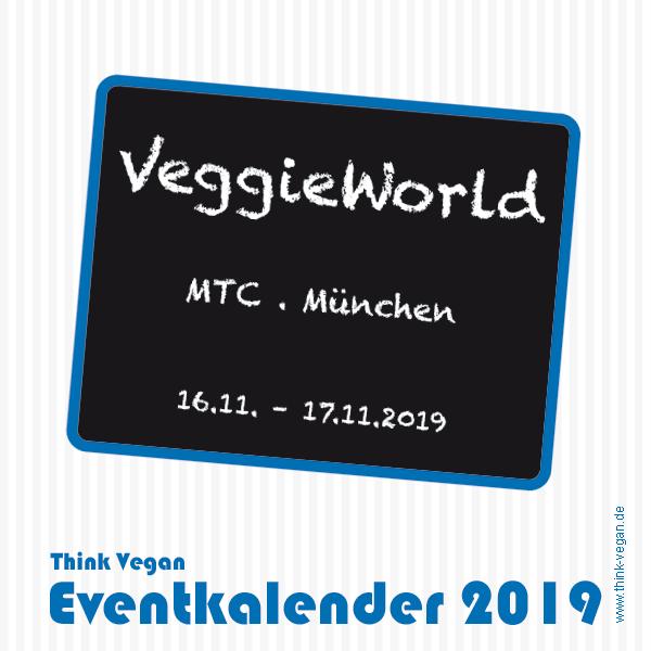 VeggieWorld München . Eventkalender 2019