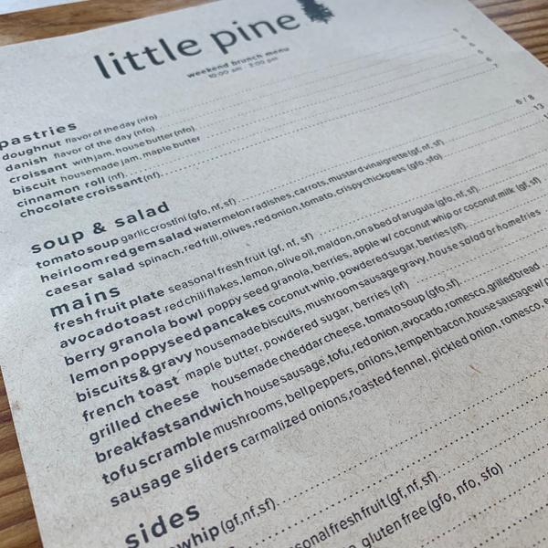 Little Pine . Veganes Restaurant