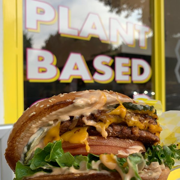 Honeybee Burger . Veganes Restaurant