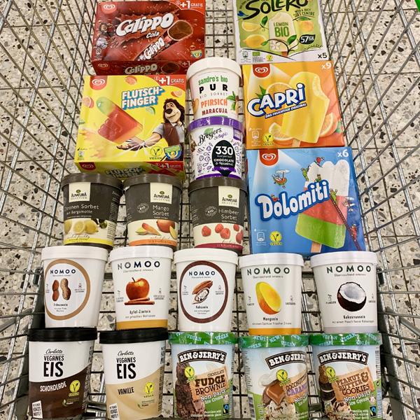 Vegan Shopping bei Globus