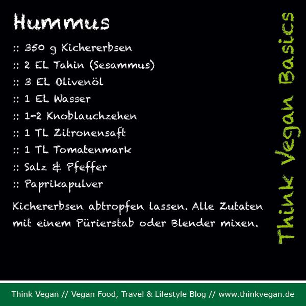 Think Vegan Basics Hummus