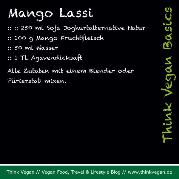 Think Vegan Basics Mango Lassi