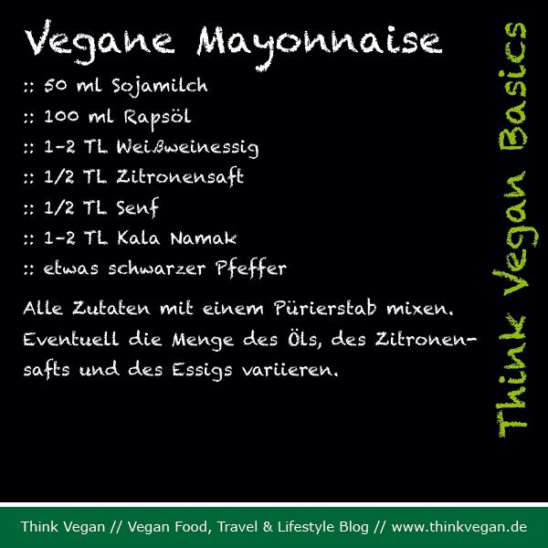 Think Vegan Basics Vegane Mayonnaise