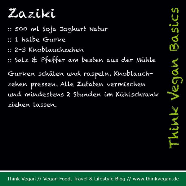 Think Vegan Basics Zaziki