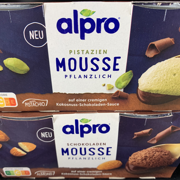 Alpro Schokopudding Mousse