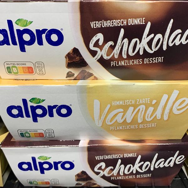 Alpro Schokopudding
