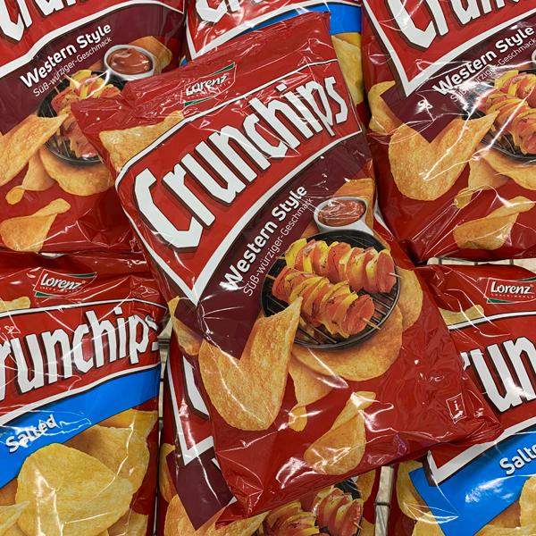 Crunchips, Erdnuss Locken, Saltletts & Co.