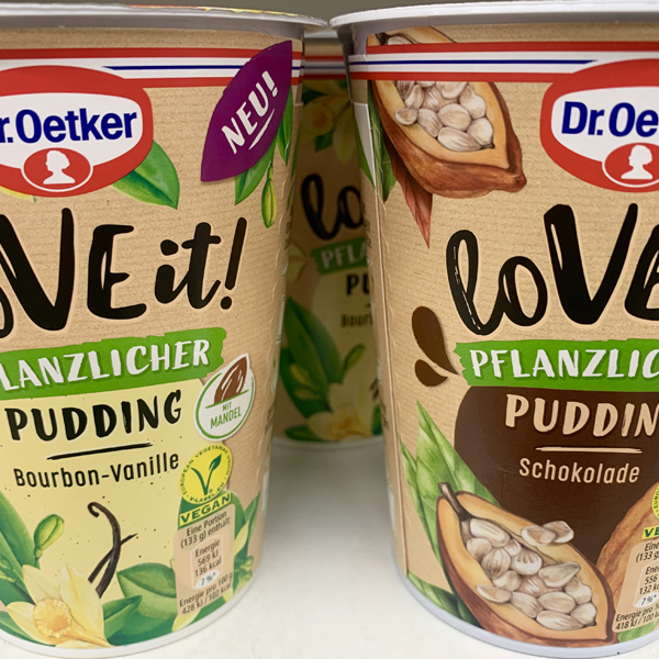 Dr. Oetker Love It Vanille & Schoko Pudding