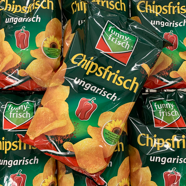 Funny Frisch Chipsfrisch, Riffels, Frit-Sticks & Co.