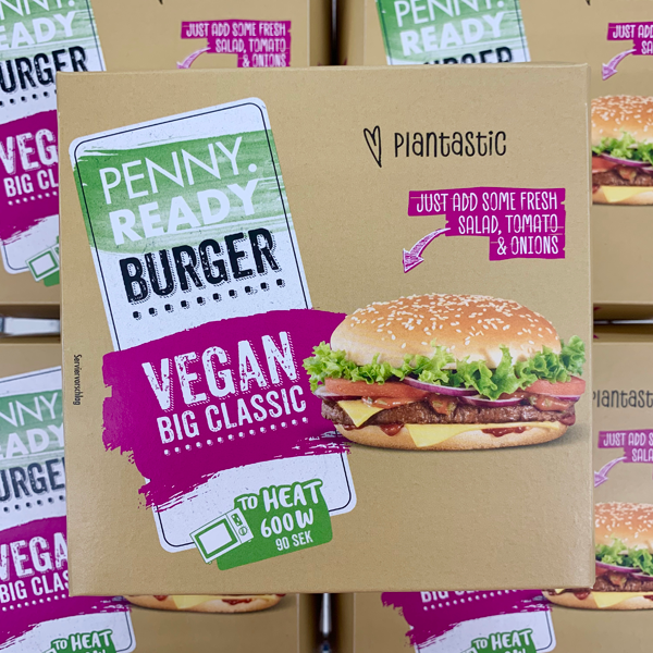 Penny Ready Burger Vegan Big Classic