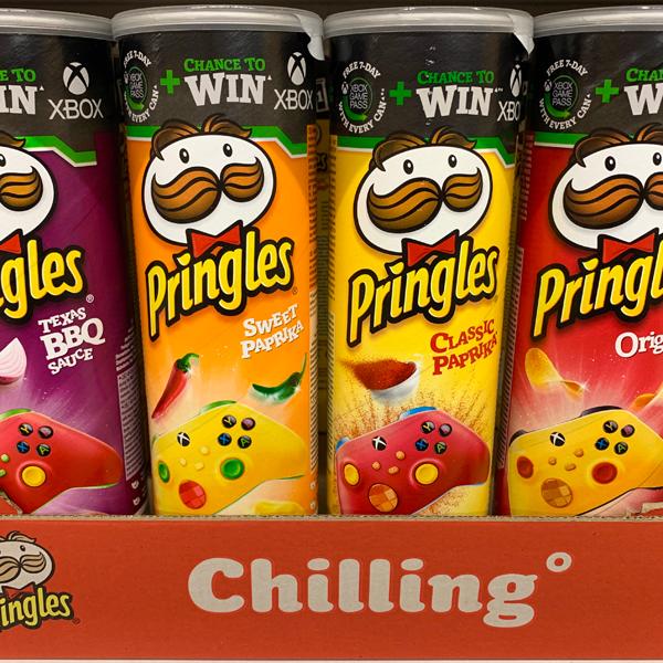 Pringles Chips Vegan