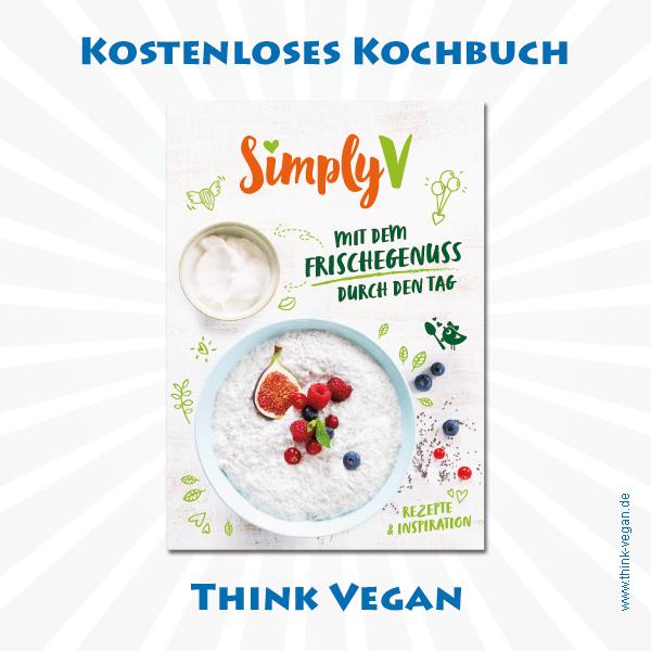 Mit dem Frischegenuss durch den Tag . Veganes Kochbuch