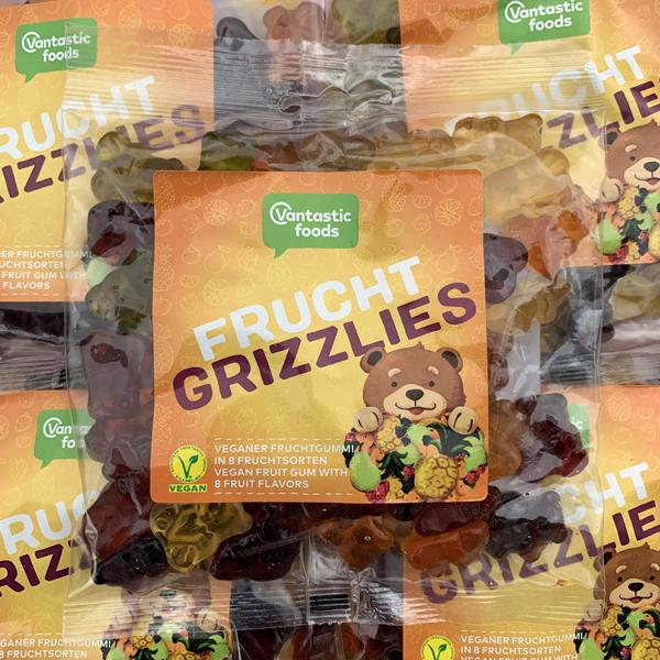 Vantastic Foods Frucht-Grizzlies Vegan